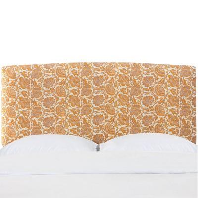 Upholstered Headboard In Japanais Orange - Cloth & Company