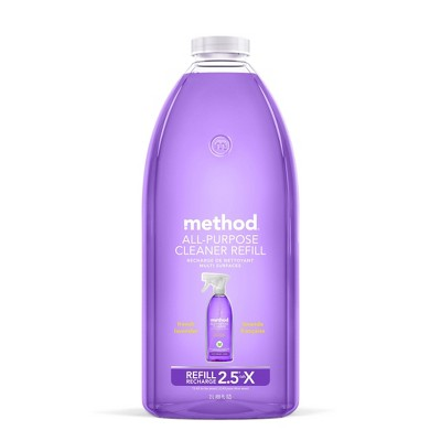 method French Lavender All Purpose Surface Cleaner Refill - 68 fl oz