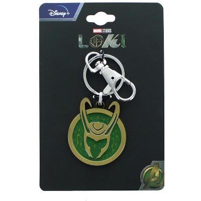 SalesOne LLC Marvel Loki Key Chain Base Metal And Enamel 4x3.5cm