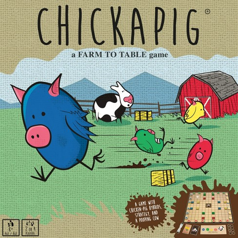 Buffalo Games Chickapig Board Game - image 1 of 5