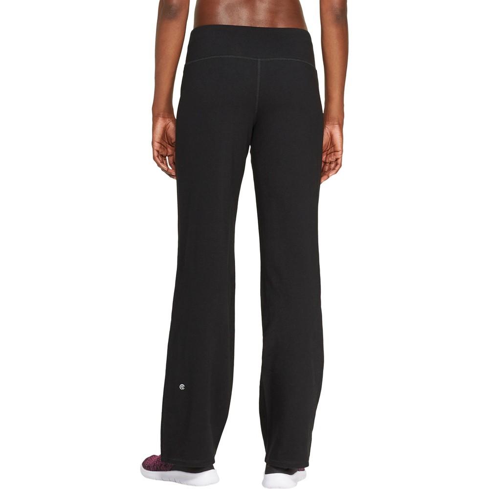 Women's Mid-Rise Cotton Pants 28.5 - C9 Champion Black XS - Long
