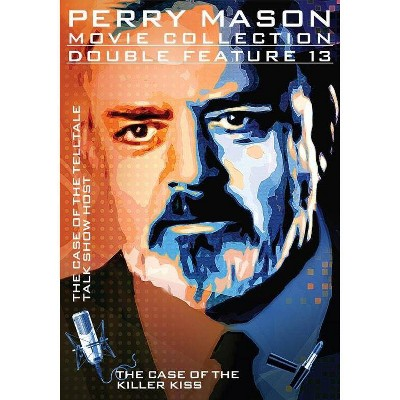 Perry Mason Double Feature: Case Of The Telltale Talk Show Host / Killer Kiss (DVD)(2016)