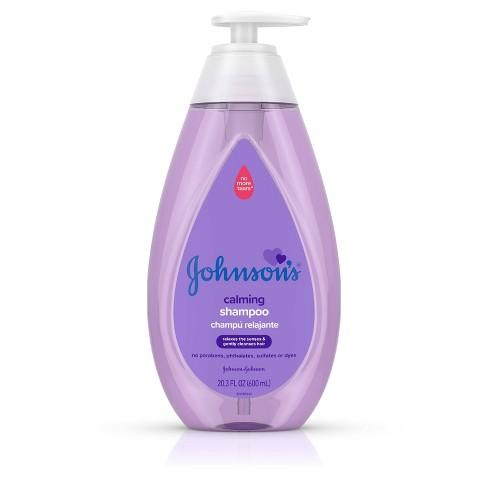 Johnson's Calming Shampoo - 20.3 fl oz - image 1 of 4