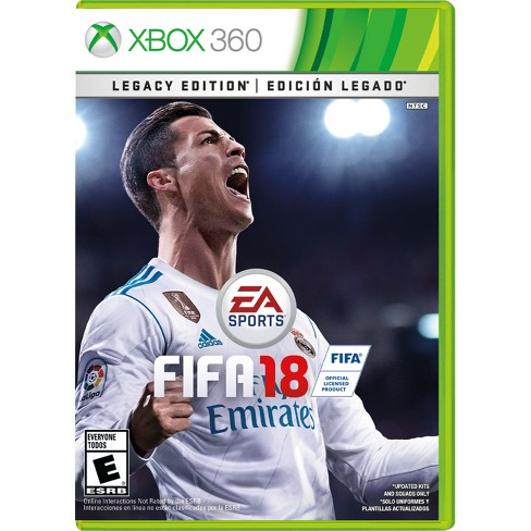 FIFA 18 Legacy Edition - Xbox 360 - image 1 of 2