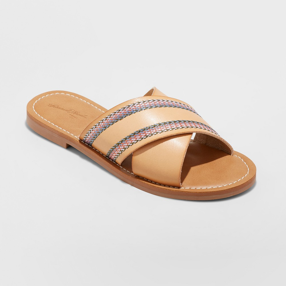 Women's Wren Slide Sandal - Universal Thread Tan 7.5
