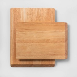 2pc Nonslip Wood Cutting Board Set - Made By Design™