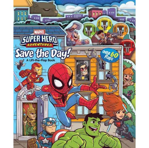 Save the Day! -  (Super Hero Adventures) by Alexandra West (Hardcover) - image 1 of 1