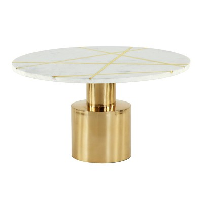 Marble Coffee Table Gold - Olivia & May