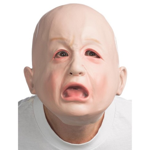 HMS Helpless Crying Baby Mask - image 1 of 1