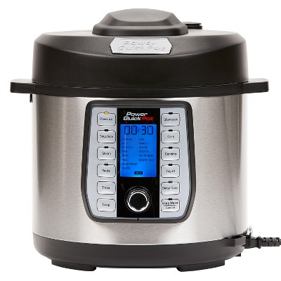 As Seen on TV 6qt Power Quick Pot Electric Pressure Cooker - Silver