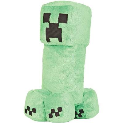 JINX Inc. Minecraft Earth Adventure Series 10.5 Inch Plush | Creeper