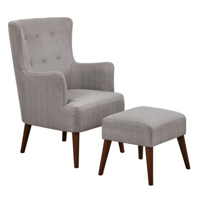 Jane Chair and Ottoman - angelo:HOME