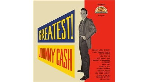 Johnny Cash - Greatest (Vinyl) - image 1 of 1