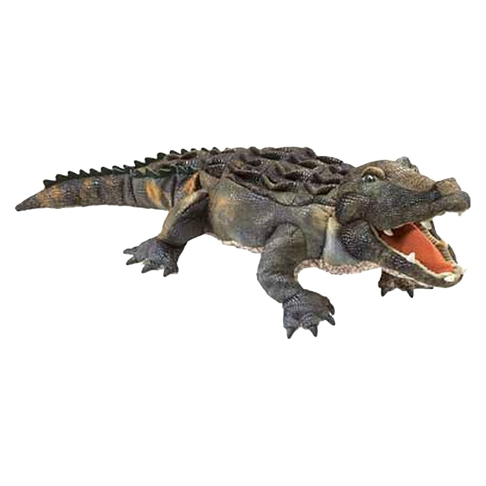 Folkmanis American Alligator Hand Puppet