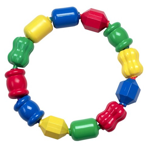 Fisher-Price Geometric Shapes Snap Lock Beads - image 1 of 8