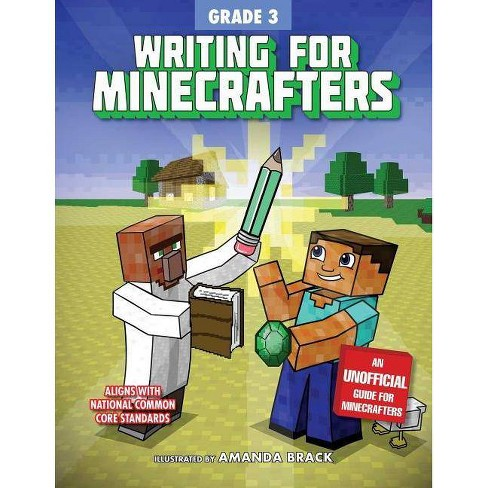 Writing for Minecrafters: Grade 3 - (Paperback) - image 1 of 1