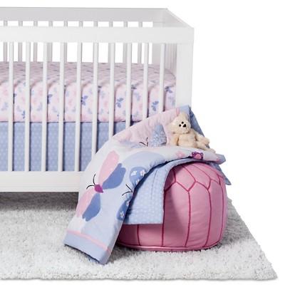 Bedtime Originals 3-Piece Crib Bedding Set - Butterfly Meadow