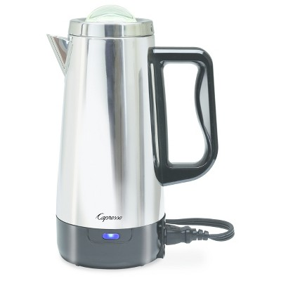 Capresso 12-Cup Percolator Coffee Maker - Stainless Steel 405.05