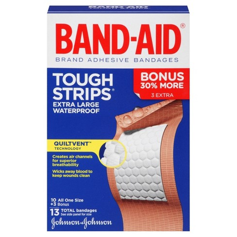 Band-Aid® Tough Strip Waterproof - 10ct - image 1 of 6