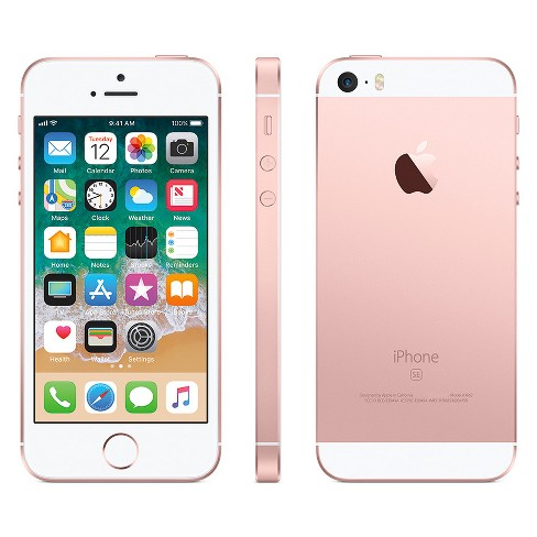 Simple Mobile Iphone Se 32gb Rose Gold Target
