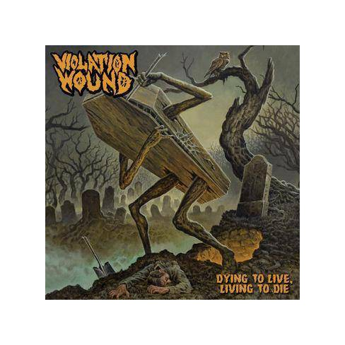 Violation Wound - Dying To Live, Living To Die (CD) - image 1 of 1