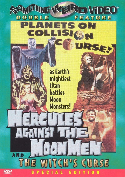 Hercules against the moon men/Witch's (DVD) - image 1 of 1