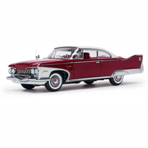 1960 Plymouth Fury Hard Top Plum Red Platinum Edition 1/18 Diecast Model Car by Sunstar - image 1 of 4