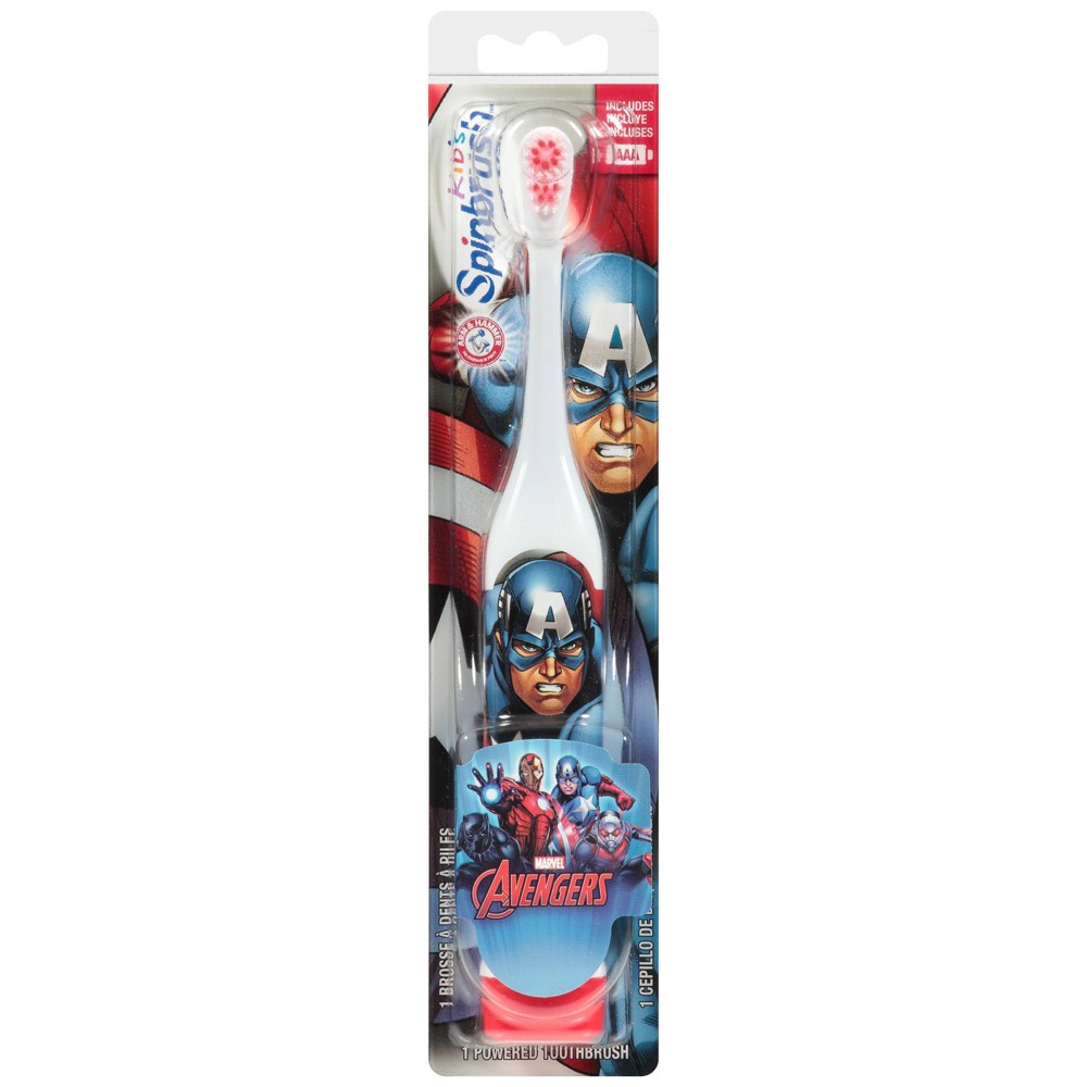 Image of Spinbrush Avengers Various Powered Toothbrush - 1ct