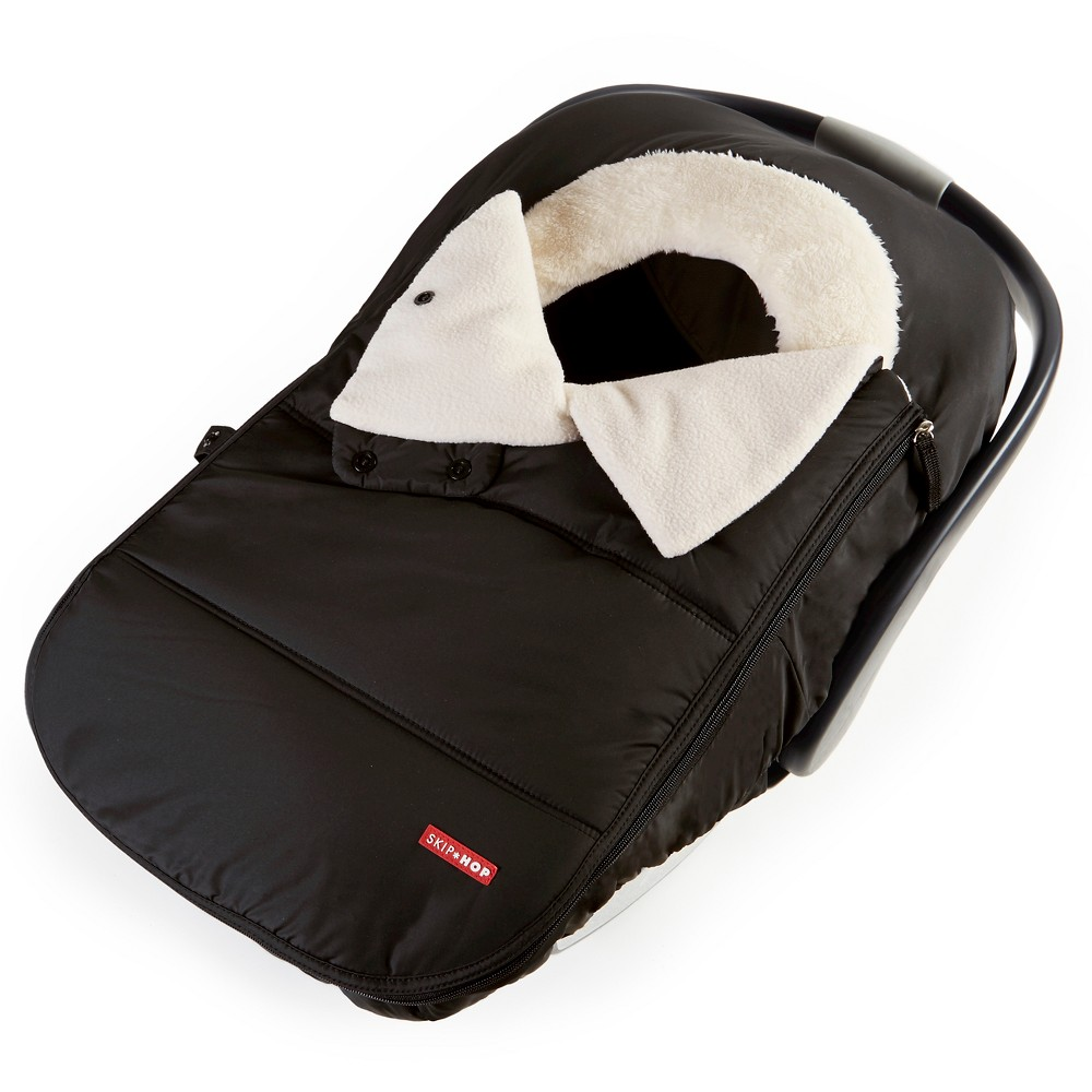 Image of Skip Hop STROLL & GO Car Seat Cover - Black