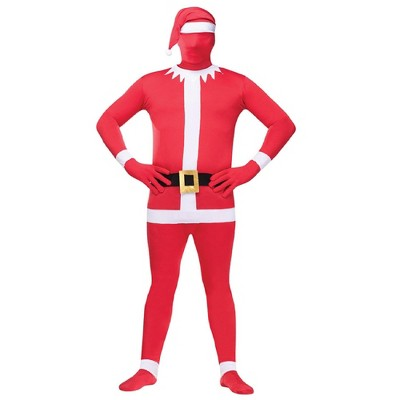 Fun World Red and Green Elf Unisex Adult Christmas Costume Set - One Size