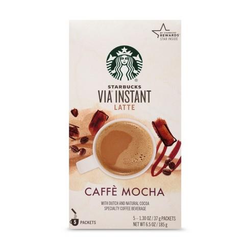 Starbucks Via Instant Caffe Mocha Latte 5ct