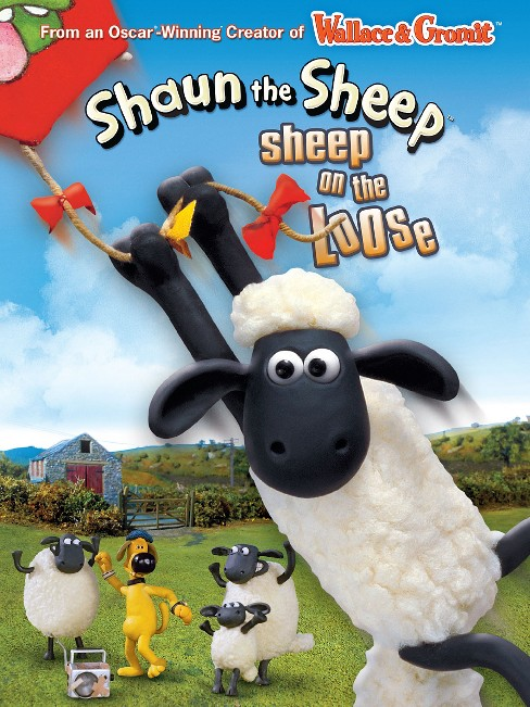 Shaun the sheep:Sheep on the loose (DVD) - image 1 of 1