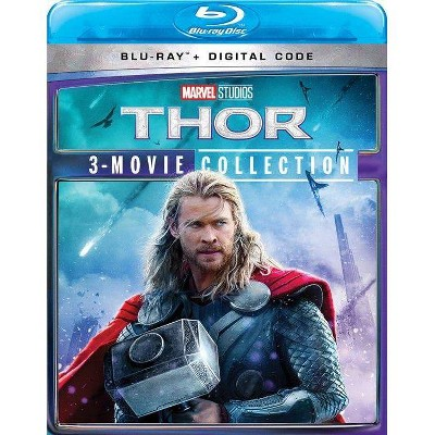 Thor: 3-Movie Collection (Blu-ray + Digital)(2021)