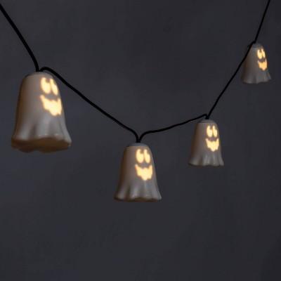 Musical Ghost LED Halloween String Lights - Hyde & EEK! Boutique™