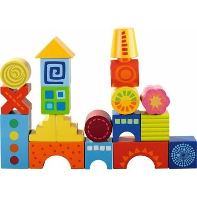 HABA Mod Blocks - 21 Colorful Wooden Building Blocks