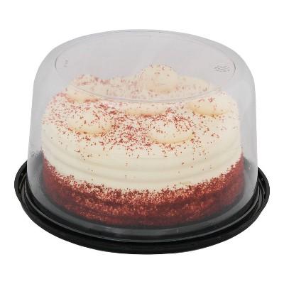 """Double Layer Red Velvet Cake - 7"""" - Market Pantry™"""