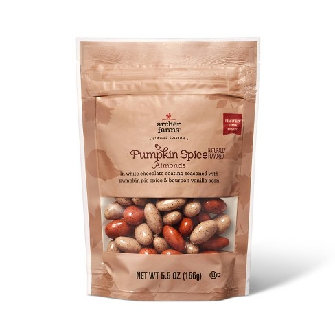 Pumpkin Spice Almonds - 5.5oz - Archer Farms™ - image 1 of 3