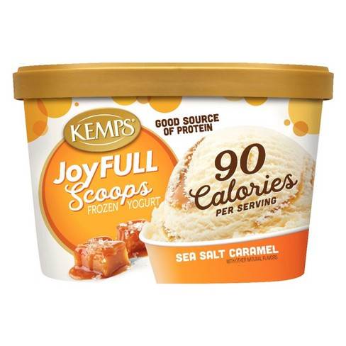 Kemps Joyful Scoops Sea Salt Caramel Frozen Yogurt