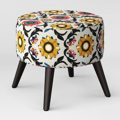 Riverplace Round Cone Leg Ottoman Golden Tulum - Project 62™