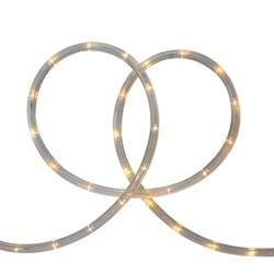 Northlight Warm White LED Outdoor Flexible Christmas Rope Light Set, 18ft