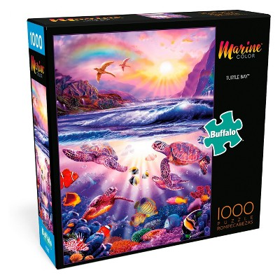 Buffalo Games Marine Color: Turtle Bay Puzzle 1000pc