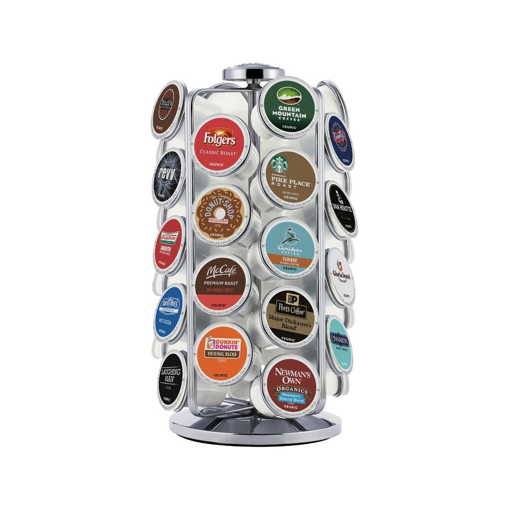 Image of Keurig 36 K-Cup Pod Carousel, Silver