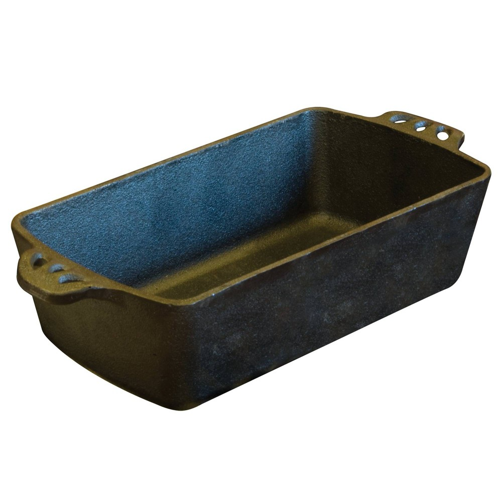 Image of Camp Chef Cast Iron Bread Pan - Black
