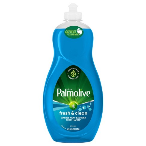 Palmolive Ultra Liquid Antibacterial Dish Soap - Fresh Clean - 46 fl oz - image 1 of 4