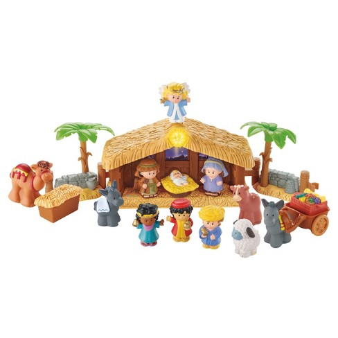 Fisher-Price Little People Christmas Story Set - image 1 of 9