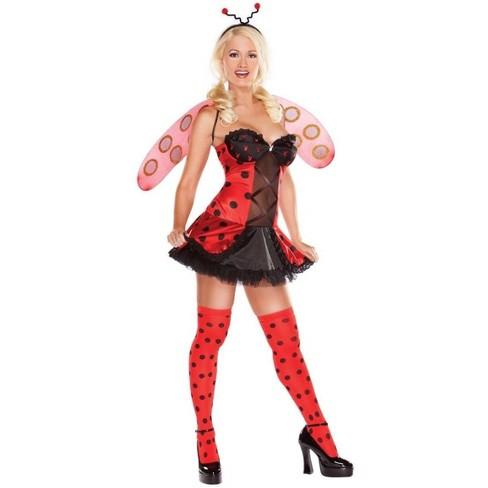 Funworld Ladybug Playboy Adult Costume Kit: Large - image 1 of 1