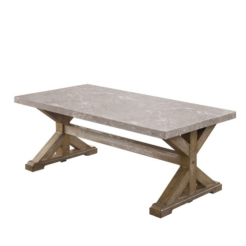 Wellingham Coffee Table Natural - ioHOMES - image 1 of 3