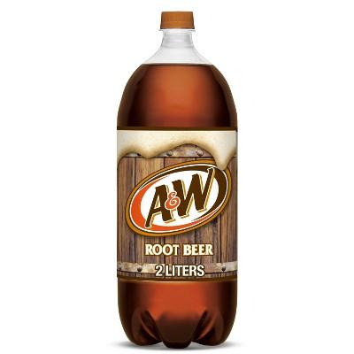 A&W Root Beer Soda - 2 L Bottle