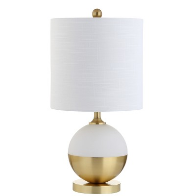 23.5  Carr Ceramic/Metal LED Table Lamp (Includes Energy Efficient Light Bulb)- JONATHAN Y