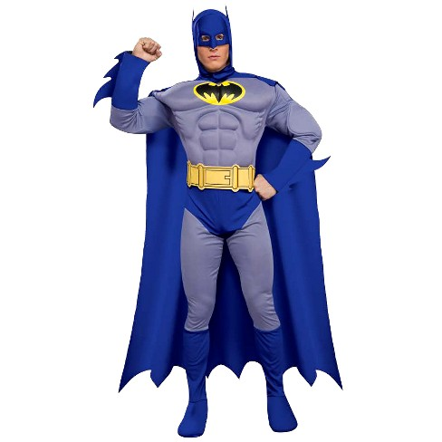 Batman Brave Bold Deluxe Muscle Chest Adult Costume X Large Target